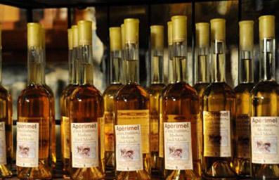 bouteille miel