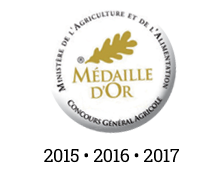 medaille or agriculture